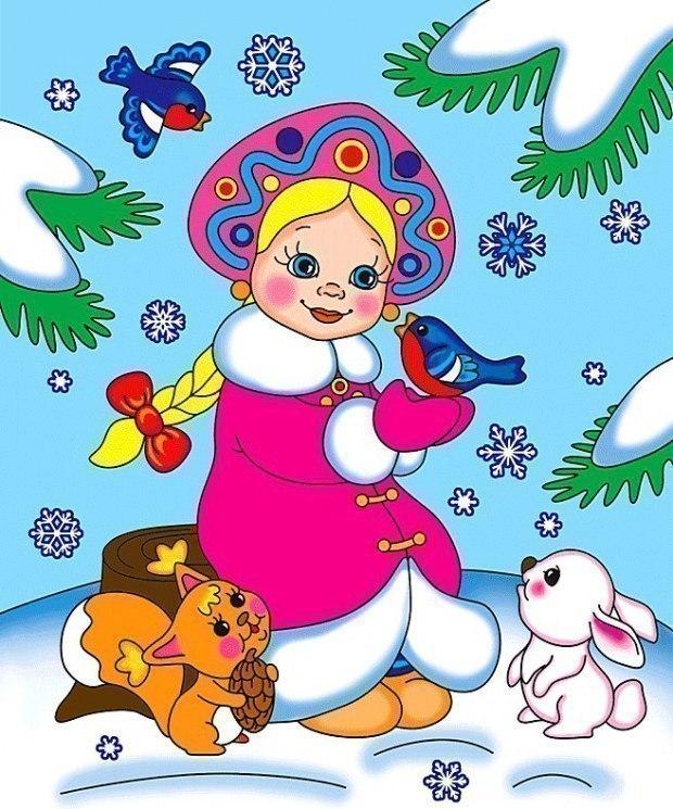 Цветные новогодние открытки распечатать