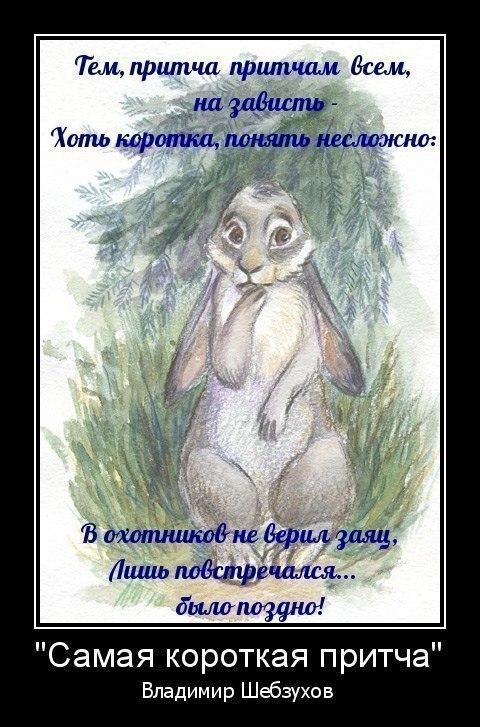 Притчи от Владимира Шебзухова - Страница 18 D2b8087ca37958a3d8e049bfd0d94d46