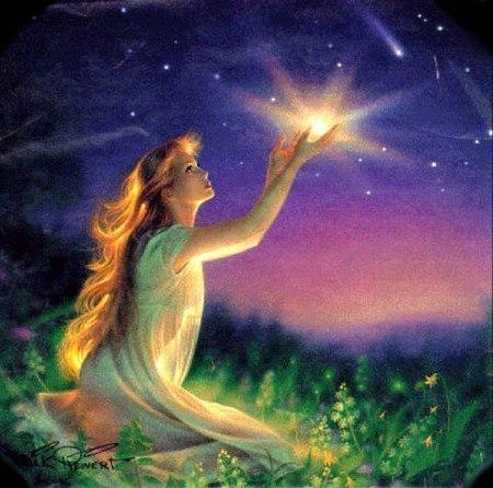 Я звездой упаду с неба утром... (авторская песня)