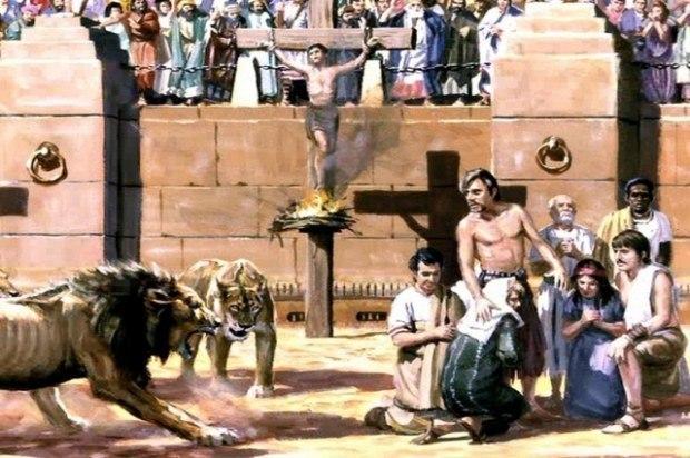 Вера, Надежда, Любовь и падение Рима