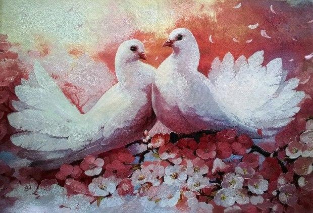 различные свадебные птицы картинки возмущение