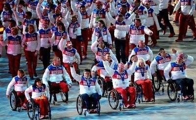 Паралимпийцам в поддержку