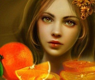 У апельсина дольки