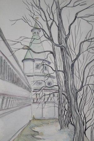 Стены монастырские