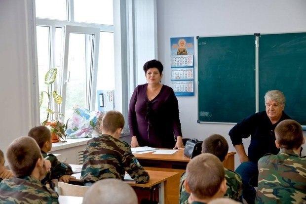 Юные кадеты слушали поэтов