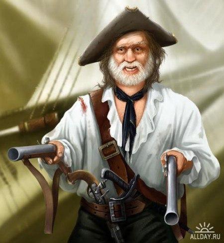 Рассказ старого пирата (плейкаст с авторской песней)