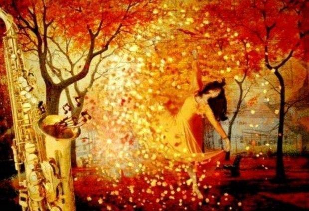 Прощальный бал багряных листьев