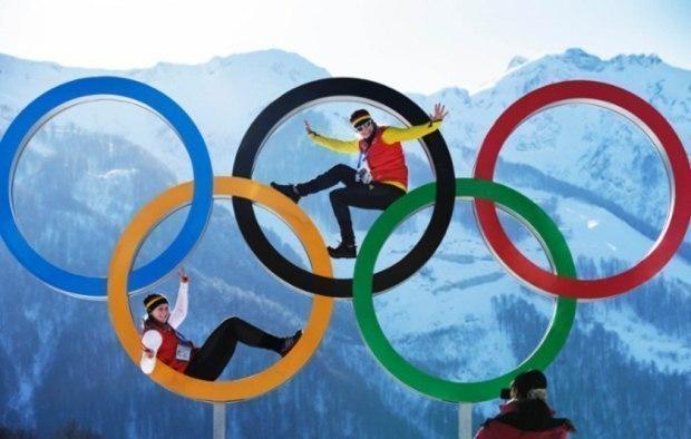 Олимпийский настрой...