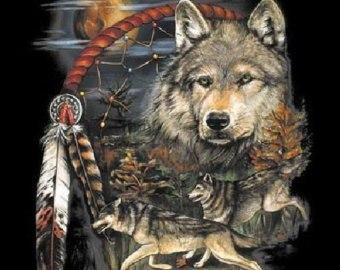 Стих волчьей тропой