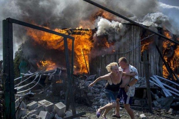 Это было в Донбасе.