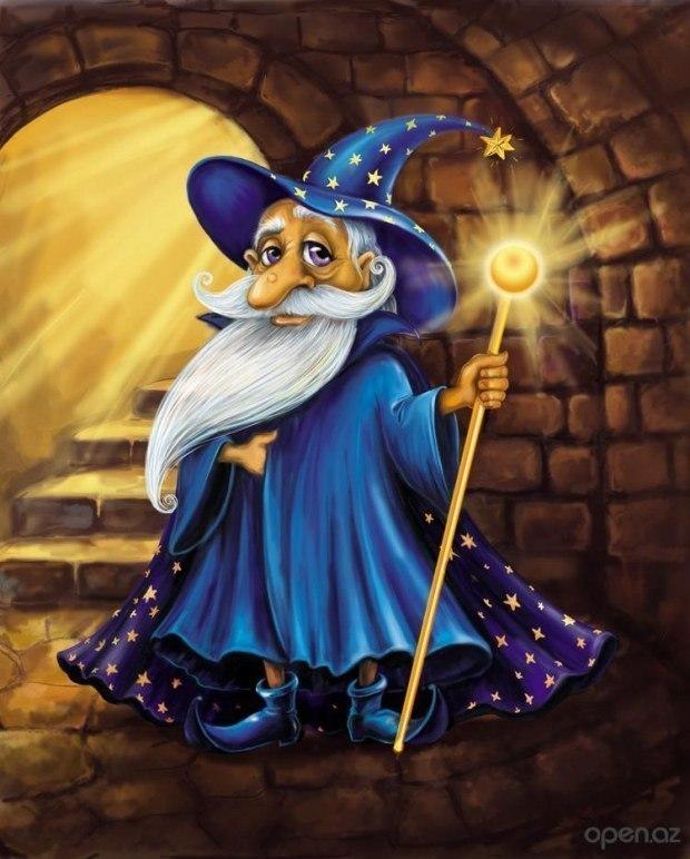 Сказка о старом волшебнике, коварном короле и добром великане