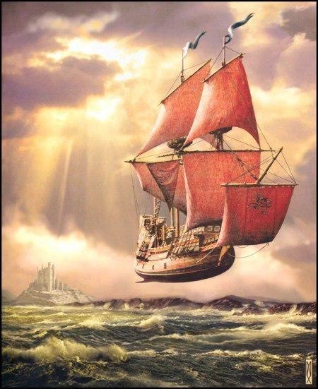 Корабль моих желаний (авторская песня)