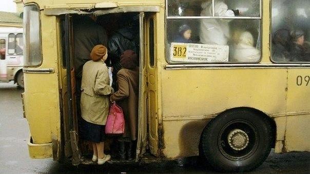 Автобус и дядя Володя
