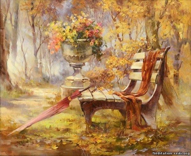 Листопад разноцветных дней - стихи для песни