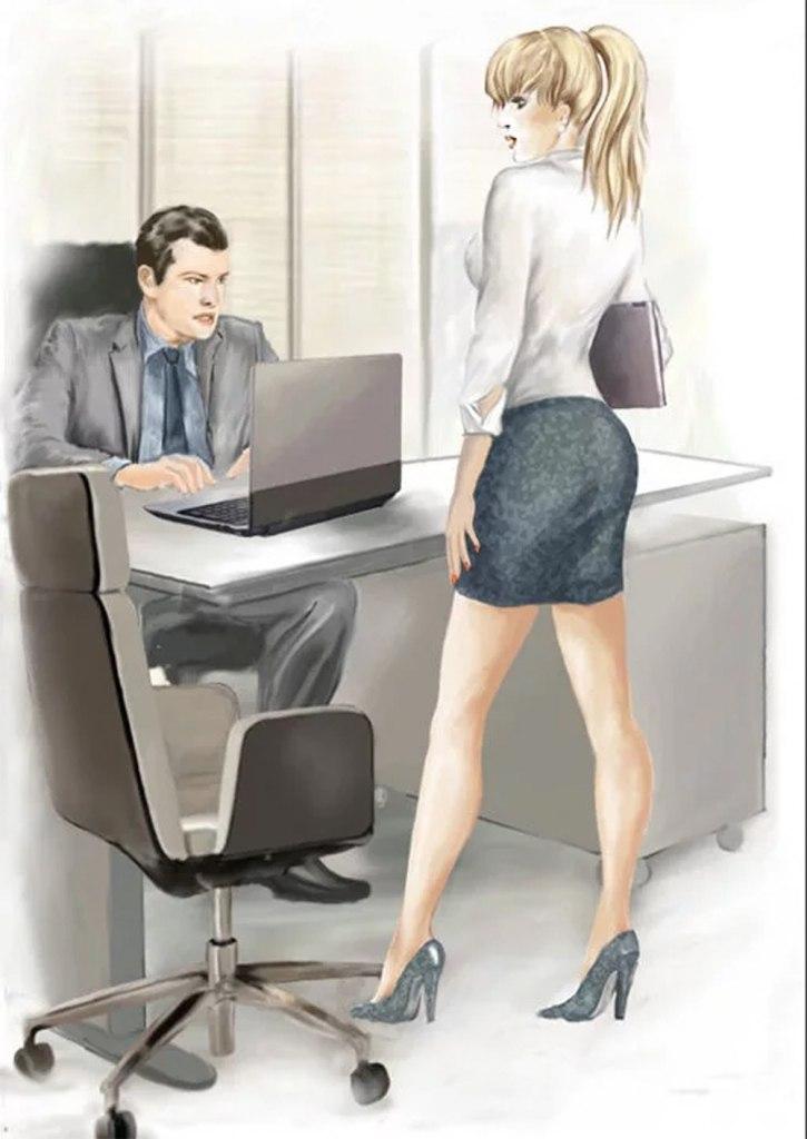 Фотогалерея босс наказать секретарша