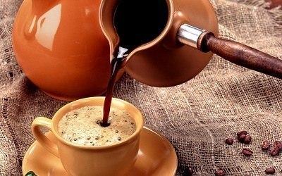 Яркий вдох кофейный