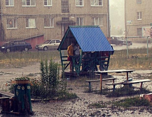 Июльский дождь (авторская песня)
