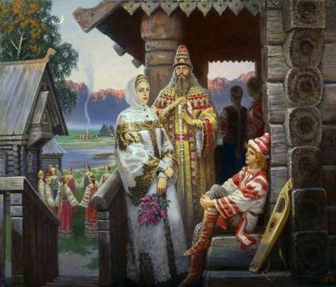 Воины эпохи древней руси x - xi веков на рисунках-реконструкциях