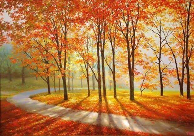 Осенние месяцы - исполняет Евгений Мишенков