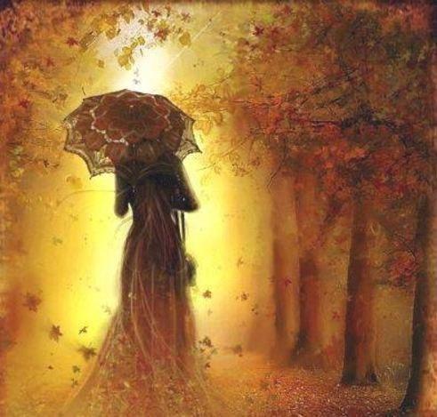 Осень сыплет золото под ноги