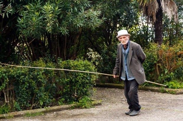 Один старичок из Абхазии