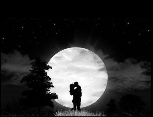 Гигантская жемчужина - луна...