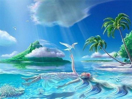 Остров мечты (авторская песня)