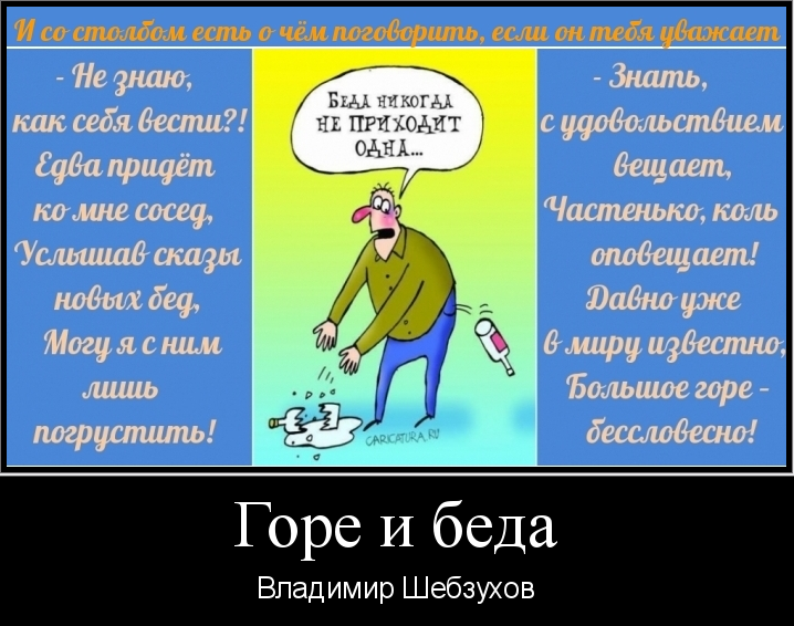«Горе и беда» (Владимир Шебзухов)